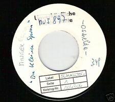 Single--Minisex----RARE   Musterplatte-