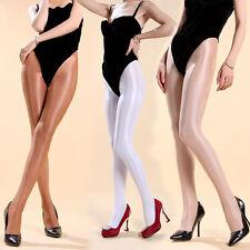 Hot 8D 70D Super Gloss Tights Shiny Cheerleader Hooters Dancer Pantyhose Uniform