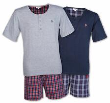 U.S. POLO ASSN. Shorty Pyjama Schlafanzug T-Shirt Shorts Nachtwäsche Schlafhose