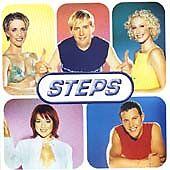 """1 of 1 - STEPS-""""STEPTACULAR""""-TRAGEDY-BRAND NEW UK JIVE CD 1999"""