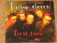 FINGER ELEVEN - First Time - 1 Track PROMO CD! RARE! OOP! PROG-13055-2