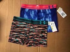 NWT Women's Compression Under Armour Shorts UA Heatgear SIZE S, L MSRP $29.99