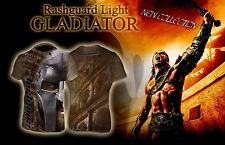 Gladiator Light Rash Guard MMA BJJ Fightwear Hightype Compression Training