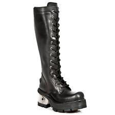 New Rock Boots Womens Punk Gothic Bottes - Style 236 S1 Noir - Femmes