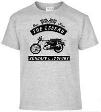 T-shirt, Zündapp C 50 Sport, Moto, Moto, Oldtimer, Youngtimer