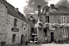 Locronan Département Finistère Brittany France Photograph Picture