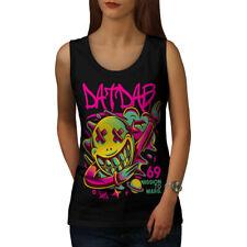 Funky DAT DAB Camiseta sin mangas de Moda de Mujer Nuevo | wellcoda