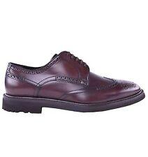 DOLCE & GABBANA Feste Business Schuhe Braun Solid Shoes Brown 03885
