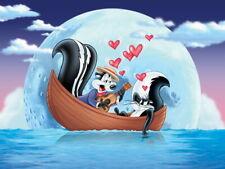 Pepe Le Pew Skunk Love Looney Tunes Art Huge Print POSTER Affiche