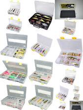 Spro Tackle Box Deluxe Kunst Köder Angel Zubehör Box Angelkoffer 18 Varianten