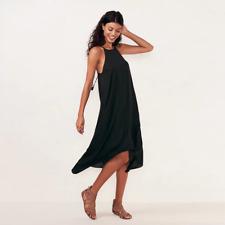 58db4f3e1 LAUREN CONRAD Halter Slip Dress black tie sizes XS S M L NEW