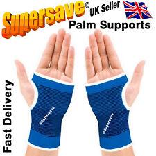 Palm support brace arm arthritis injury gym sleeve elasticated bandage pad wrap