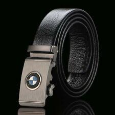 BMW Genuine Leather Belt Men Accessories Automatic Buckle Fashion Designer