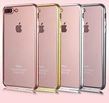 Schutzhülle für iPhone 8 Plus & 7 Plus TPU Soft Case Silikon 3 Farben