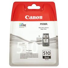 GENUINE CANON PIXMA - PG-510 BLACK PRINTER INK CARTRIDGE (2970B001AA)