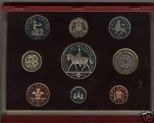 2002 LUXE ROUGE preuve ensemble de 9 pièces