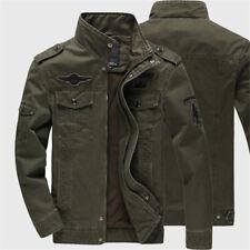 Army Bomber Tactical Men Flight Jacket Autumn Winter Cargo Jackets Cotton Outwea