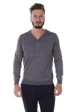 Maglia Daniele Alessandrini Sweater -55% Monteverde Uomo Grigio FM91493607-11