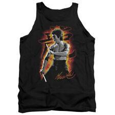 Bruce Lee Dragon Fire Mens Tank Top Shirt