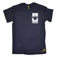 Proteine flessione BIANCO TASCHINO DA UOMO swps T-shirt di formazione Regalo di Natale