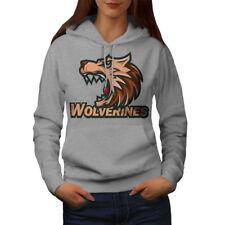 Wolverine Beast Animal Women Hoodie NEW | Wellcoda