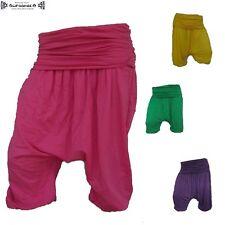 Aladin-Pump-Pluder-Hose Harem Trousers Pants goa hippie yoga psy Kurz inde 3/4