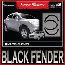 Black Fender Trim Wheel Set For 10 11 Hyundai Tucson