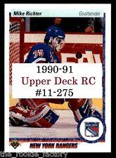 1990-91 Upper Deck RC | #11-275 | Hockey | Pick Player/Rookie from Menu LOT x1