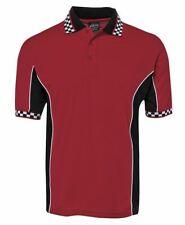 Jb's wear Podium Teamwear Moto Polo Shirt W/ Jacquard Collar & Cuffs Quick dryin