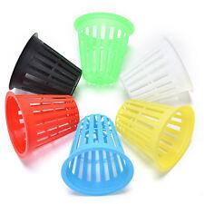 10X Mesh Pot Net Basket Clone Cloning Collar Insert Hydroponic Aeroponic
