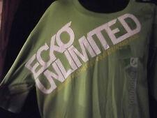 Élégant nouveau HOMME ECKO designer Hip Hop Green Rhino T-Shirt ~ Taille XL