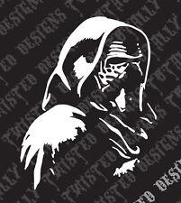 Star Wars Kylo Ren car truck vinyl decal sticker the force awakens sith jedi bb8