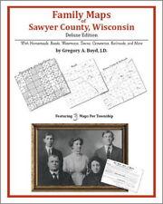Family Maps Sawyer County Wisconsin Genealogy WI Plat