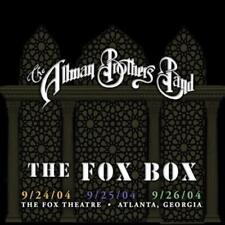 THE ALLMAN BROTHERS BAND - FOX BOX [2017 REMASTER] NEW CD