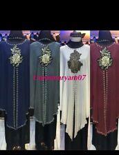 Dubai Style muslim Abayas farasha Jalabiya maxi Dress  jilbab Burkha