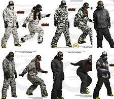 Southplay Winter-Wasserdichte Ski-Snowboard- Militär Entwurf - Jacke+ Hose SET