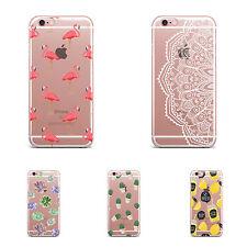 Premium Soft Clear TPU Silicone Case Cover Apple iPhone 7, 7 Plus, 8 and 8 Plus