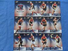 2012 SELECT CHAMPIONS AFL CARDS MELBOURNE DEMONS BASIC TEAM SET