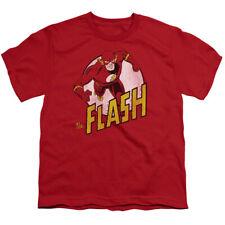 DC Comics The Flash Big Boys Youth Shirt RED