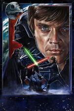 63280 Luke Skywalker Darth Vader Wall Print Poster CA