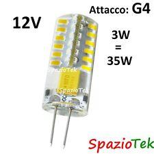 Lampadina led 3W G4 12V bisbina bianco caldo freddo Lampadine faretti lampade