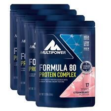 (21,73 Eur/kg) Multipower 4 x Formula 80 Protein Complex 510g Beutel Eiweiß