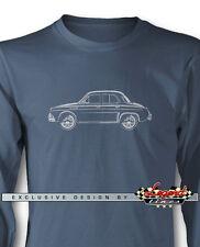 Renault Dauphine Ondine Kilowatt Long Sleeves T-Shirt - Multiple Colors & Sizes