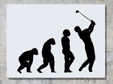 evolución de golfista - Golf Deportes Adhesivo de pared decorativo imagen