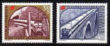 Austria / Oostenrijk - 1984 Railway anniversaries Mi. 1785-86 MNH