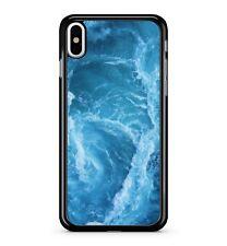 Spruzzi d'acqua Wave Blue Ocean Burst Aqua H2O IDROSFERA 2D TELEPHONO CASE COVER