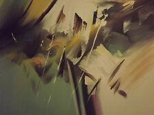 Abstrait couleurs formes Chaos grande peinture à l'huile toile moderne art contemporain