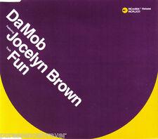 DA MOB ft JOCELYN BROWN - Fun (UK 5 Track CD Single)
