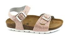 GRUNLAND LUCE SB1202 32/40 cipria sandali bambina fibbie glitter rosa pelle