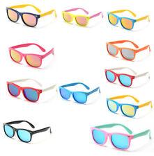 Polarised-Mirrored Flexible Kids Sunglasses Age 3-10